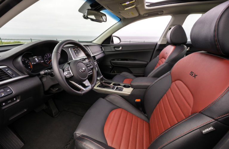 front seats of 2019 kia optima