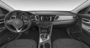 2019 Kia Niro Charcoal Cloth Interior Color Option