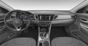 2019 Kia Niro Gray Cloth Interior Color Option