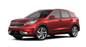 2019 Kia Niro Runway Red Exterior Color Option