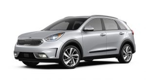 2019 Kia Niro Silky Silver Exterior Color Option