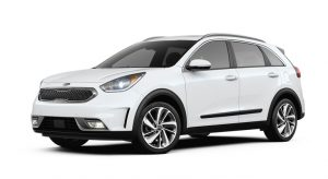 2019 Kia Niro Snow White Pearl Exterior Color Option