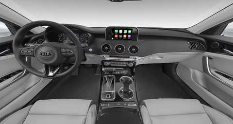 what interior and exterior color options are available on the 2019 kia stinger 2019 kia stinger