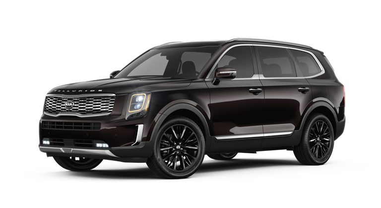 2020 Kia Telluride Black Copper Exterior Color Option