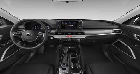 2020 Kia Telluride Black SOFINO Interior Color Option