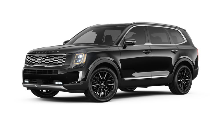 2020 Kia Telluride Ebony Black Exterior Color Option