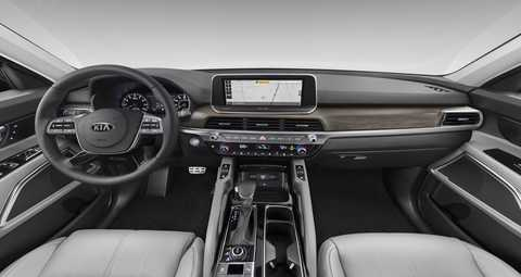 2020 Kia Telluride Gray Leather Interior Color Option