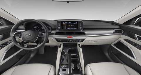 2020 Kia Telluride Gray SOFINO Interior Color Option