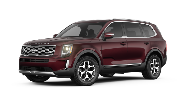2020 Kia Telluride Sangria Exterior Color Option