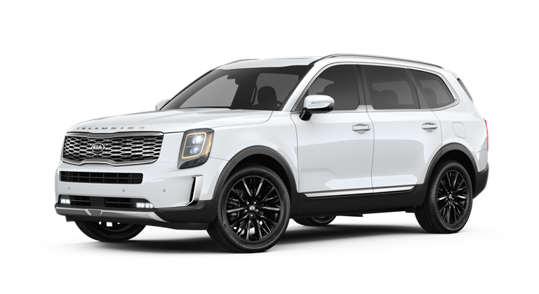2020 Kia Telluride Snow White Pearl Exterior Color Option