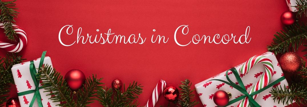 Enjoy holiday activities in and around Concord this December