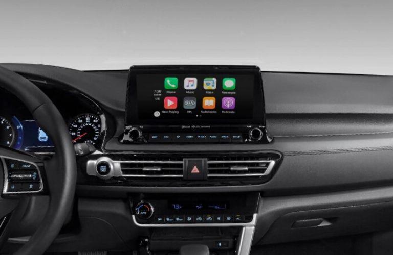 2021 Kia Seltos interior Apple CarPlay
