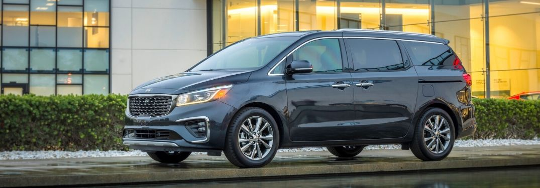 How much space does the 2020 Kia Sedona have?