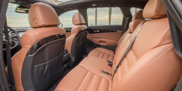 2020 Kia Sorento Rear Interior