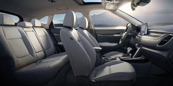 Cutaway View of 2021 Kia Seltos Interior
