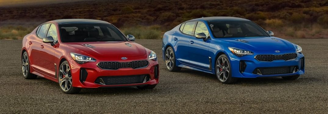 How Many Colors is the 2020 Kia Stinger Available In?