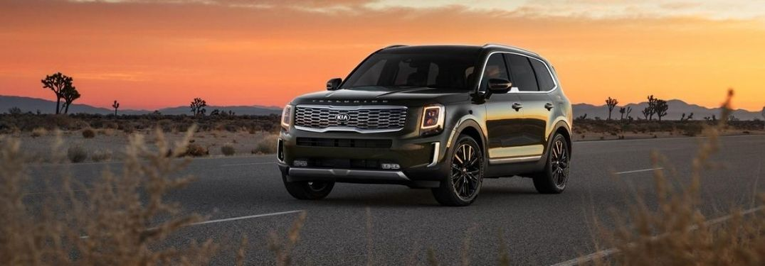 How Many Colors Does the 2021 Kia Telluride Come In?