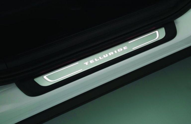 2021 Kia Telluride Illuminated Door Sill Plates