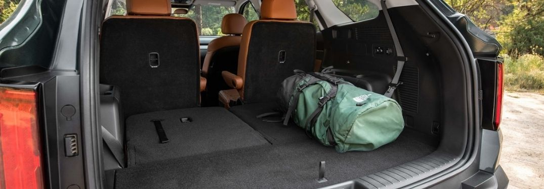 2021 Kia Sorento Rear Cargo Space