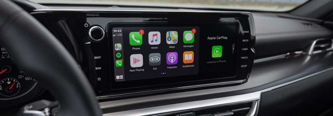 2021 Kia K5 Touchscreen Display with Apple CarPlay