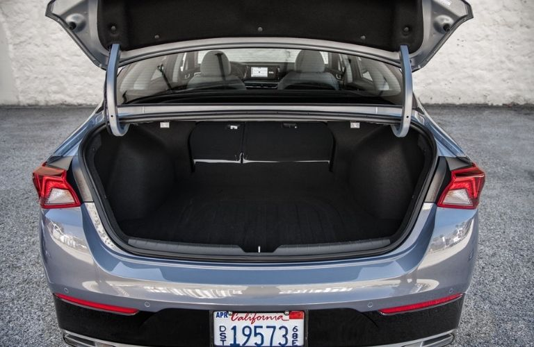 2021 Kia K5 Rear Trunk Space