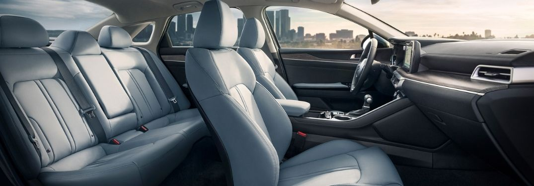 Guide to 2021 Kia K5 Interior Passenger Space Specs and Dimensions