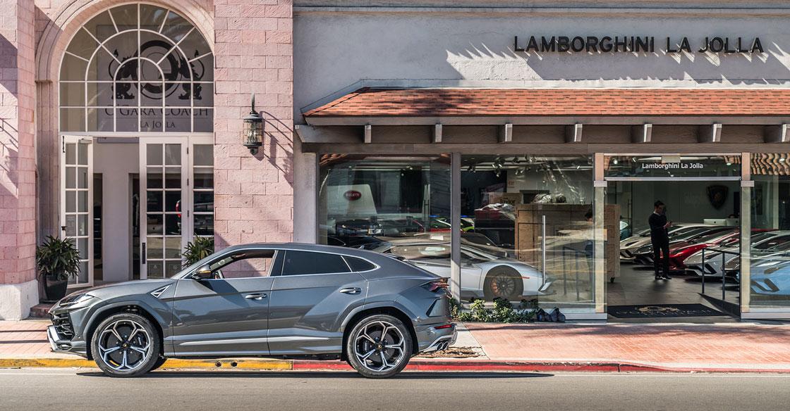 Lamborghini Urus OGara Coach La Jolla
