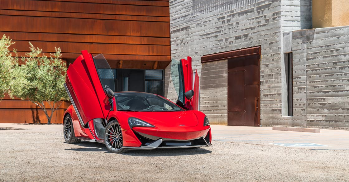 More Than just a Sports Car - the McLaren 570S