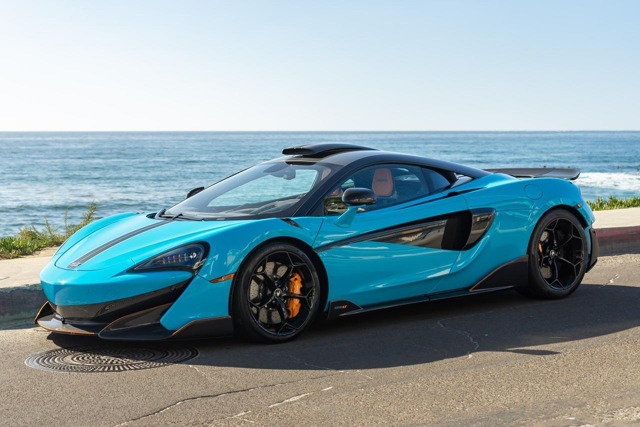 McLaren 600 LT MSO Blue Roof Scoop
