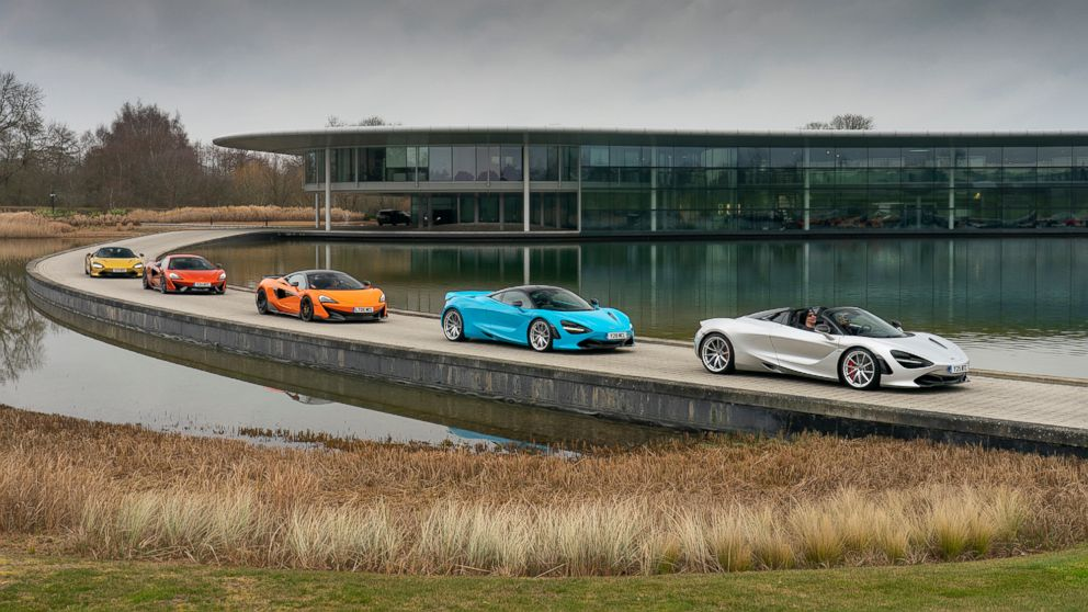MCLAREN AUTOMOTIVE JOINING THE COVID-19 FIGHT