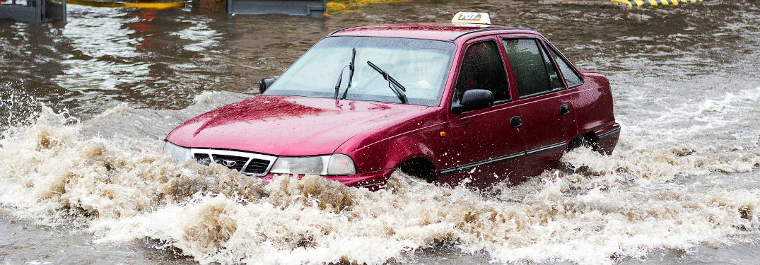 Signs that a used car has flood or water damage