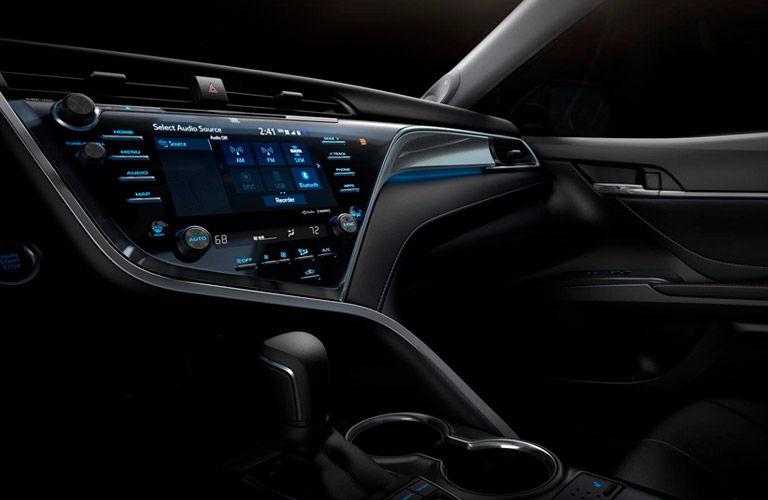 2018 Toyota Camry Interior Technology Upgrades And Convenience
