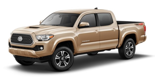 2018 Toyota Tacoma Exterior Paint Color Options