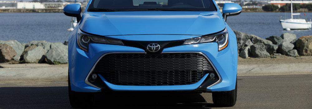 2019 Corolla Hatchback Body Image O Salinas Toyota