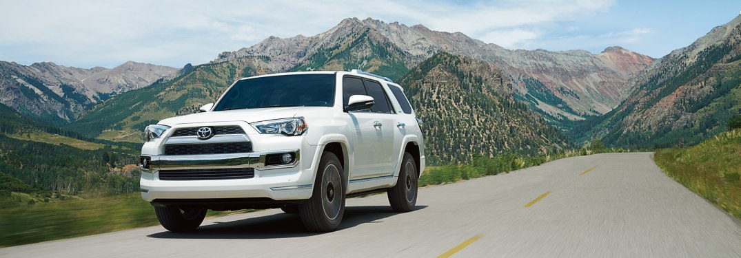 2019 Toyota 4Runner Trim Level Differences