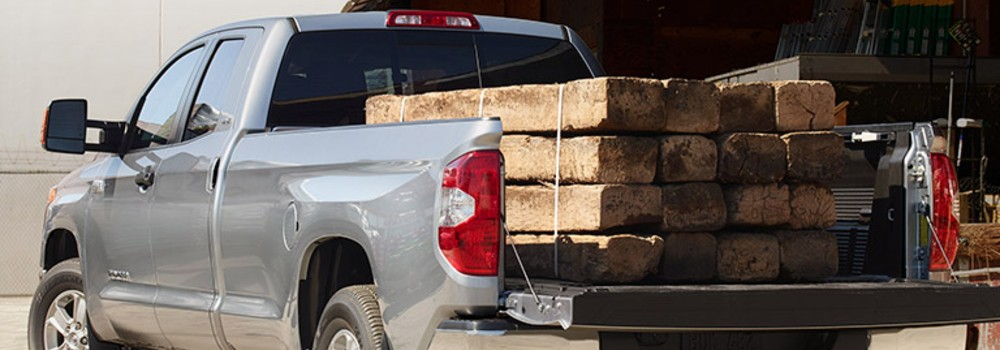 2019 Toyota Tundra with a heavy payload