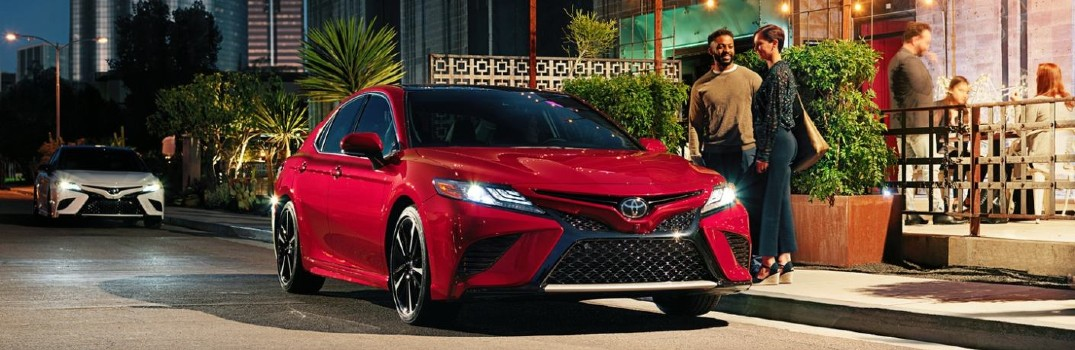 2020 Toyota Camry available features
