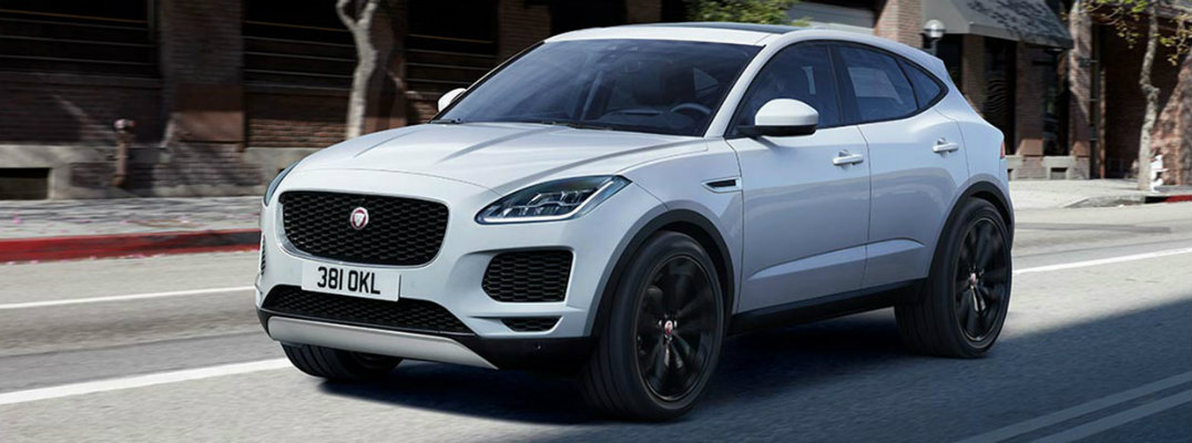 How Much Can Fit In The 2018 Jaguar E PACE?
