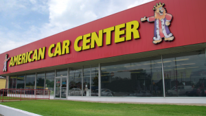 Storefront of American Car Center