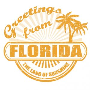 Greetings from Florida Logo