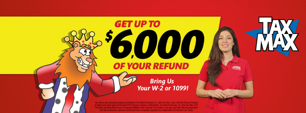 Get Your Tax Refund Now!