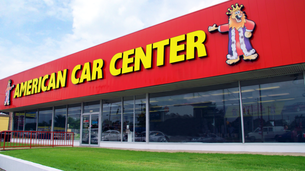 American Car Center Store front