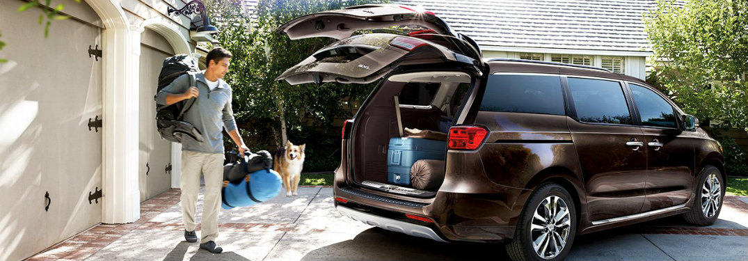See how big and Spacious the new Kia van is
