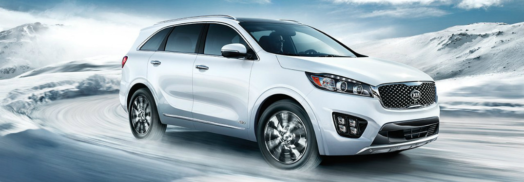 Check out the Available Colors for the new Sorento SUV