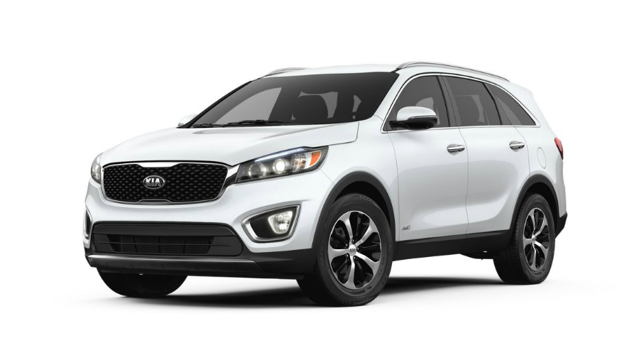 2018 Kia Sorento in Snow White Pearl