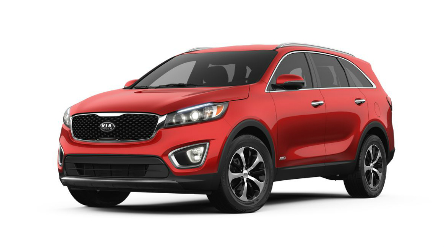 2018 Kia Sorento in Remington Red