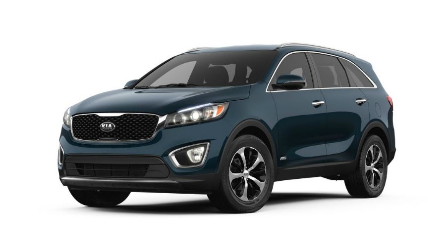 2018 Kia Sorento in Blaze Blue