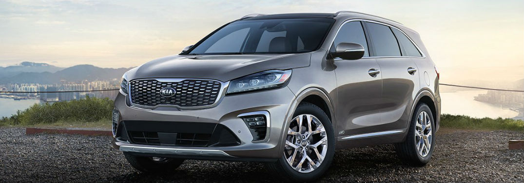 Large interior of new 2019 Kia Sorento crossover SUV offers plenty of passenger and cargo space