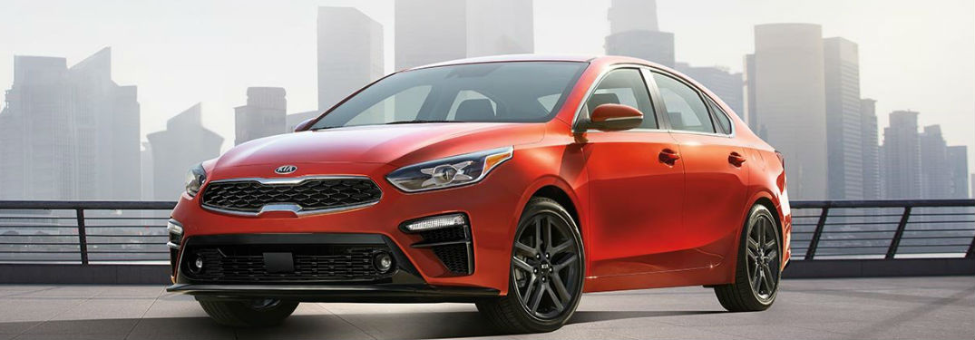 2019 Kia Forte parked showing front and side profile