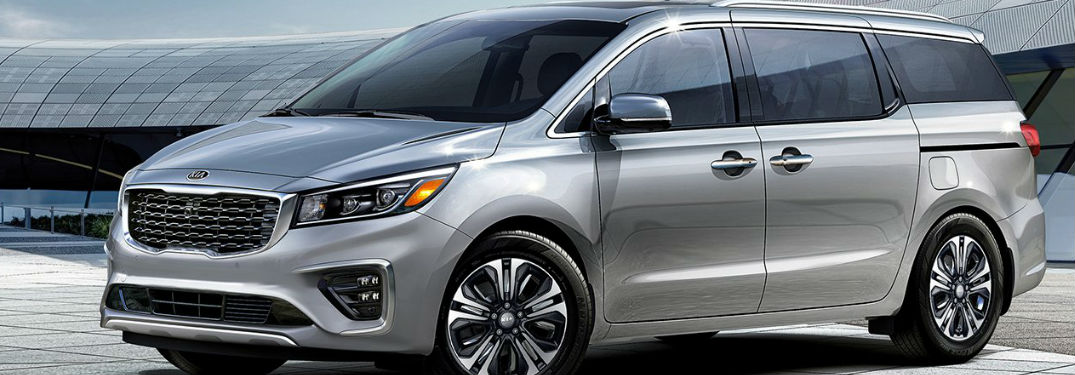 Spacious interior of 2019 Kia Sedona offers an impressive amount of passenger and cargo space